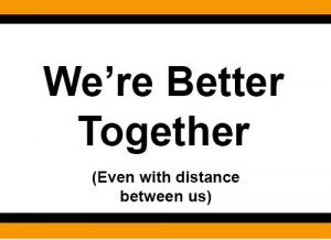We're better together image2