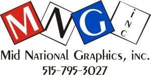 Mid National Graphics logo