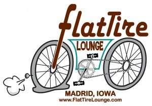 Flat Tire Lounge logo